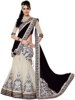 Lehenga Choli Self Design Bollywood Georgette, Net Sari