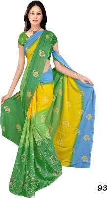 stylish sarees Printed Daily Wear Synthetic Chiffon Sari
