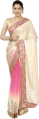 Suruchi Solid Fashion Jacquard, Mettalic Yarn, Art Silk Sari
