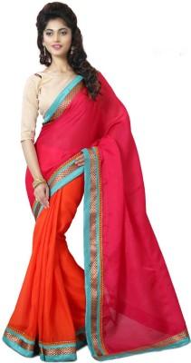 Mutiar Plain Fashion Linen Sari