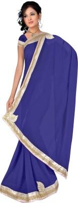 stylish sarees Plain Daily Wear Synthetic Sari