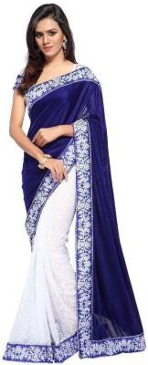 Fabian Fashion world Self Design Bollywood Velvet Sari