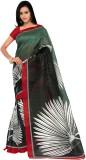 Aviaana Printed Bhagalpuri Silk Saree (G...