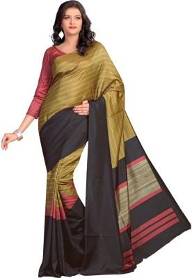 Shree Vaishnavi Printed, Self Design Bollywood Handloom Raw Silk Sari