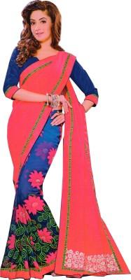 eshopie Printed Fashion Georgette Sari