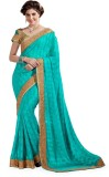 Ashika Printed Fashion Georgette Saree (...