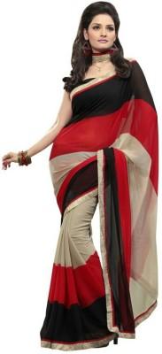 BlueGene Printed Bollywood Chiffon Sari