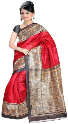 ARYYA Printed Bhagalpuri Printed Silk Sari