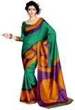 Miraan Printed Fashion Art Silk Saree (M...