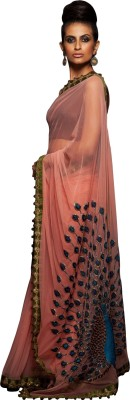 Fabron Embriodered Bollywood Georgette Sari