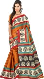 Lookslady Striped Fashion Silk Saree (Or...