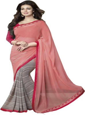 Kia Fashions Printed Bollywood Georgette Sari