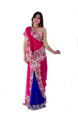 Aryya Self Design Fashion Georgette Sari
