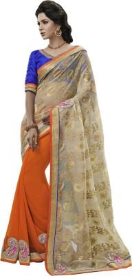 Jamkudi Fashion Embriodered Bollywood Georgette Sari