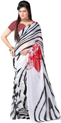 SaiArisha Printed Fashion Georgette Sari