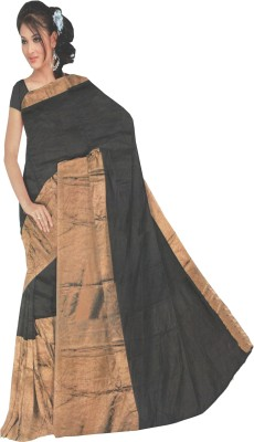 Professio Plain Fashion Silk Cotton Blend Sari