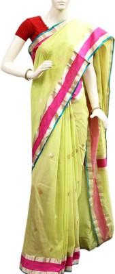 Patrani Woven Chanderi Handloom Pure Silk Sari
