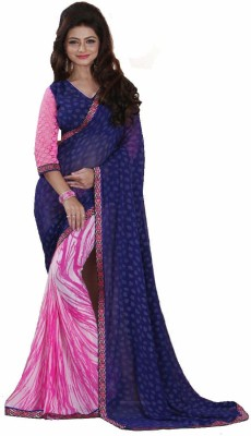 Sakthi Silks Printed Bollywood Georgette Sari