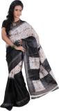 Chaand Sarees Printed Ikkat Art Silk Sar...