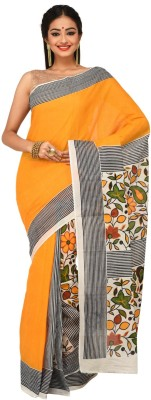 Sudeshnasboutique Self Design Fashion Handloom Cotton Sari