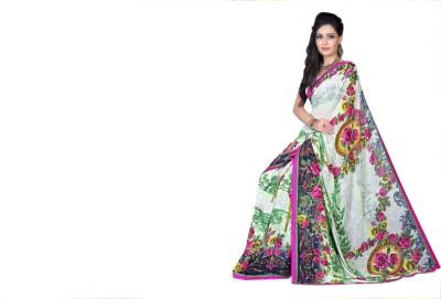 Pari Fashion Printed Bollywood Pure Chiffon Sari