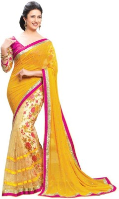 Aryaa Fashion Printed Bollywood Net Sari