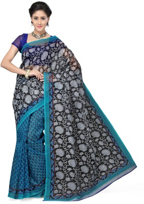 Aanya Printed Fashion Kota Cotton Sari