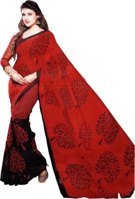 Pari Fashion Floral Print Fashion Chiffon Sari