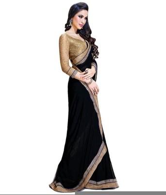 Pari Fashion Self Design Fashion Chiffon Sari