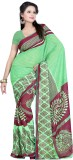 Sunita Sarees Solid Bhagalpuri Silk Sare...