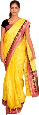 Jagadamba Self Design Banarasi Kota Cotton Sari