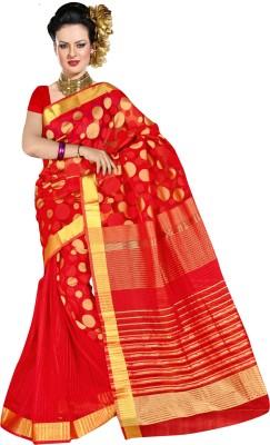 Richa Self Design Fashion Banarasi Silk Sari