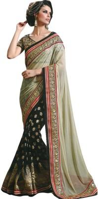 Rozdeal Embriodered Fashion Georgette Sari