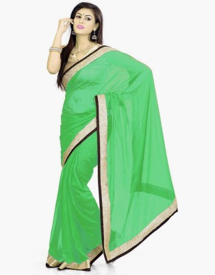 Bay & Blue Embriodered Fashion Georgette Sari