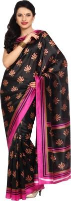 Satrang Printed Daily Wear Silk Sari