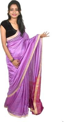 Tussar Shell Printed Daily Wear Poly Silk Sari