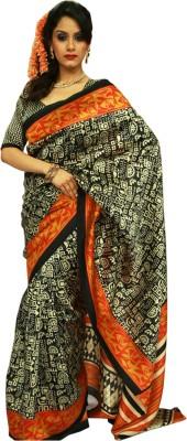 Wishing Wardrobe Printed Fashion Handloom Art Silk Sari