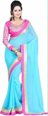 KamaniGarment Self Design Daily Wear Handloom Pure Crepe Sari