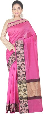 SSPK Woven Banarasi Handloom Art Silk Sari