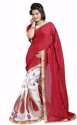 Sangeetasarees Self Design Bhagalpuri Jute Sari