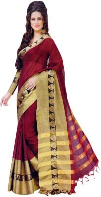 SK Solid Bollywood Cotton Sari