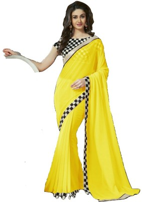 PRN Embriodered Fashion Georgette Sari