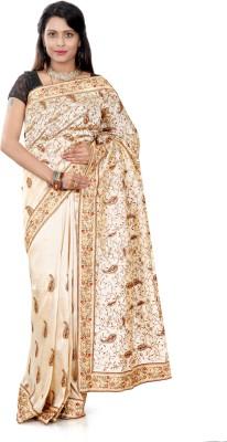 B3Fashion Woven Kosa Handloom Raw Silk Sari