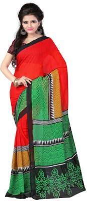 Kashiba Creation Printed Daily Wear Georgette Sari