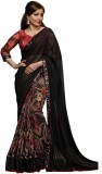 KIRAN Printed Bollywood Georgette Sari