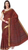 Suhanee Printed Gadwal Cotton Saree (Mar...