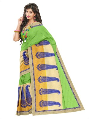 Cynthia Lifestyle Embriodered, Self Design, Embellished Fashion Net Sari