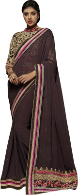 Prafful Embellished Fashion Georgette Sari