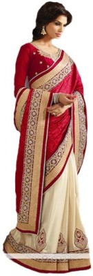 Vihana Embriodered Bhagalpuri Jacquard Sari