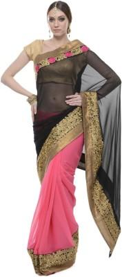 Aarohii Solid Bollywood Chiffon Sari